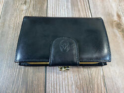 Buxton Leather Wallet with attached Black Coin Purse $15.95