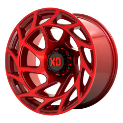 20 Inch Red Wheels Rims Lifted Toyota Tacoma Truck Xd Series Xd860 6 Lug 20x10