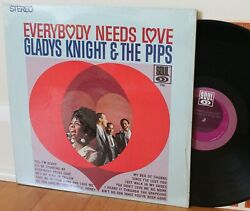 Gladys Knight And The Pips Lp Andldquoeverybody Needs Loveandrdquo Soul 706 Clean In Shrink
