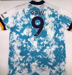 Wolverhampton Away Jersey Adidas White 2020/21 Raul 9 Xl New With Tags