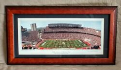 Script Ohio - The Ohio State Marching Band - Tbdbitl. Framed And Matted Photo