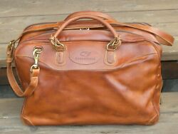 Mulholland Brothers Heritage Overnight Bag In Lariat Leather