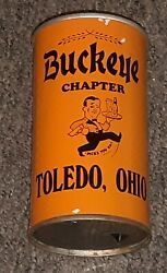 Buckeye Chapter Toledo Ohio Beer Can 12th Collectors Show Souvenir Can 1986 Old