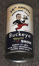 Buckeye Chapter Toledo Ohio Beer Can 36th Collectors Show Souvenir Can 2010 Old