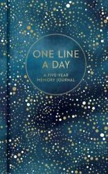 Clestial One Line A Day A Five-year Memory Journal By Chronicle Books Staff...