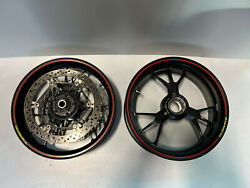 18-20 Ducati Panigale V4 V4s 1199 1299 Marchesini Forged Front Rear Wheels Rims