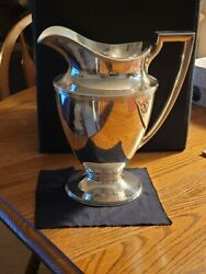 Sterling Silver Water Pitcher. 925-1000 18181 Makers 11309