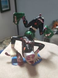 """Vintage 1963 Marx Nutty Mads """"dippy The Deep Diver"""" 6"""" Toy Figure Painted"""