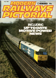 Modern Railways Pictorial Magazine July 1981 - Deltic. See Contents Scan