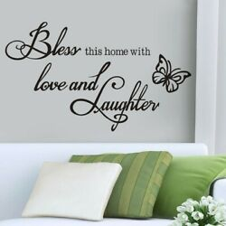 1pc Wall Art Stickers For Living Room Removable Home Decor DIY Decal Quote New