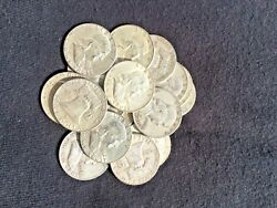 The Franklin Deal All 90 Lot Old Us Junk Silver Coin 1. Lb 16 Oz. 1964 One