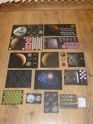 Star Trek Attack Wing Op Large Set Of Board Tokens = Andpound136 Bought Individually