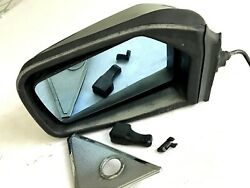 W123 Mercedes Benz Coupe Outside Door Mirror Left Side Manual 300cd 280ce