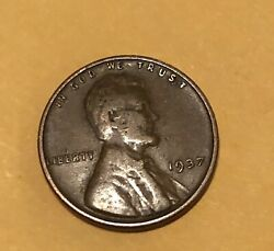 1937 1c Lincoln Wheat Cent Toned Coin With Some Ddo Nice Patina