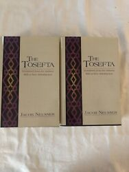 The Tosefta W/new Introduction Jacob Neusner 2 Vols Like New Cl
