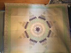 Amish Quilt Hand Made In Arthur Illinois,king Size.