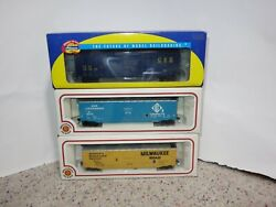 Athearn Ho Scale And Bachmann Box Cars 3 Units