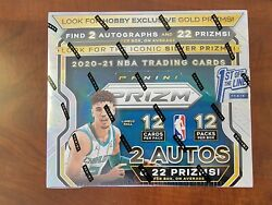 2020-21 Panini Prizm 1st Off The Line Fotl Basketball Hobby Box In Hand