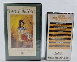 Toni Childs The Videos Music Band Singer 80s Vhs Pal Video Don't Walk Away New