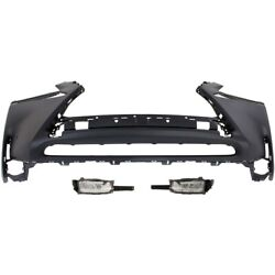 Set Of 3 Bumper Covers Front 5211978907 8122078010 8121078010 For Lexus Nx200t