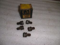 5 Nos Gm 1954-61 All Corvette Chevrolet Powerglide Cover To Flywheel Bolts