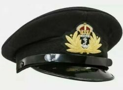 Ww2 British Royal Navy Officers Peaked Cap