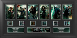 Harry Potter And The Deathly Hallows Part 2 S1 Film Cell Limited Edition Coa
