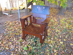 Antique Shop Of The Crafter Rare Armchair W4427 Stickley Era