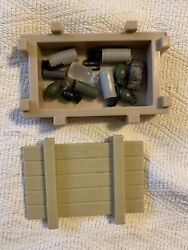 1/6 Scale Grenades Crate Lot For Gi Joe Ultimate Soldier 12 Inch Action Figures