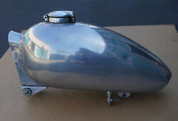 Vintage Greeves Scout Chrome Motorcycle Gas Fuel Tank Great Britain Uk Rare