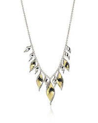 John Hardy Classic Chain Sterling Silver And Gold Necklace Nz90084x16-18
