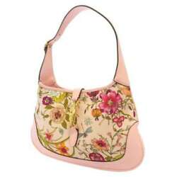 2X Points Gucci Shoulder Bag Jackie Flora Medium Hobo For Japan Only 550152 $1898.22