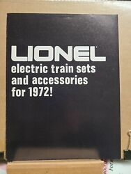 Vtg Hobby Train Catalog Sales Ad 1972 Lionel Electric Train Sets And Acce -ltm34