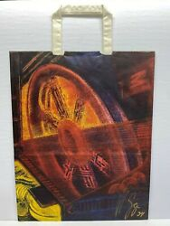 H.r. Giger Hand Signed Museum Gift Bag 1994 Steve Johnsonand039s Xfx Coa Autograohed