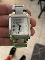 Baume And Mercier Moa10047 Hampton 37mm Men's Automatic Stainless Steel Watch