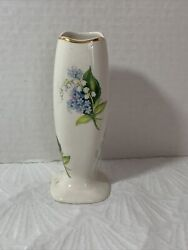 Vintage Lord Nelson Pottery Bud Vase 1758 Hand Crafted In England 3758 Flowers