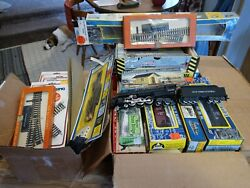 Old Collection Of Vintage Ho. Lionel Ho, Ahm, Athearn, Rivarossi, Etc