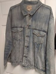 3xbbig And Tall Polo Jean Jacket