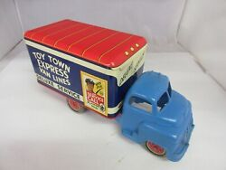 Vintage Marx Plastic And Tin Town Express Toy Truck 433