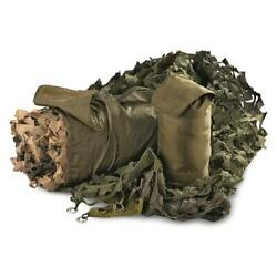 New Lightweight Military Style Camo Net 10and039 X 20and039 W/ Carry Bag