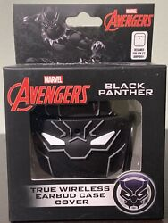 Black Panther Wireless Earbud Case Cover Airpod Compatible New And Sealed Marvel