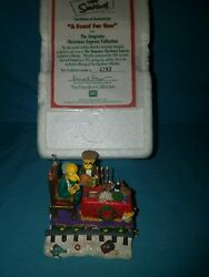 The Simpsons Christmas Express Train Hamilton Collection A Feast For One