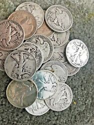 The Walking Liberty Deal All 90 Lot Us Silver Coin 1 Lb 16 Oz. 1964 One