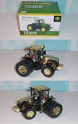 1/32 John Deere Gold Edition 7230r Farm Show Edition 2011 Tractor Great Price