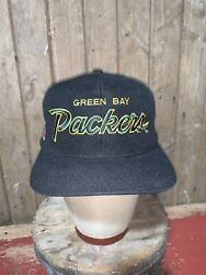 Vintage 80s Green Bay Packers Nfl Sports Specialties Hat Snapback Youngan