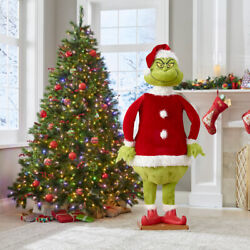 Gemmy Life Size Animated Dancing 5.74andrsquo Christmas Prop Speaks -new