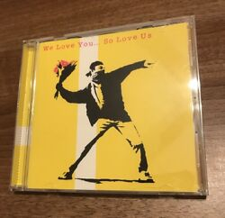 Banksy Original Un Signed Cd Love Is In The Air - Art Work 2000 Very Rare