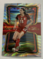 Christen Press 2017-18 Select In The Clutch Ic40 Uswnt Prizm 🔥 Soccer ⚽️ Usa