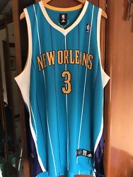 Authentic Rare Vintage Adidas Nba New Orleans Hornets Chris Paul Jersey Bnwt