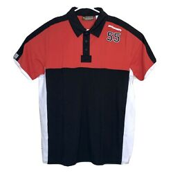 Mcdonalds Black And Red Polo Male Crew And Manager Fashion Apparel Size Large New